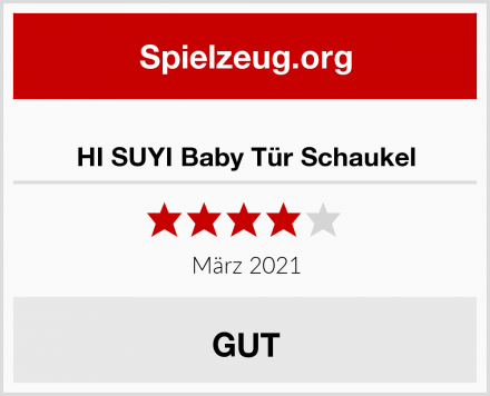 HI SUYI Baby Tür Schaukel Test