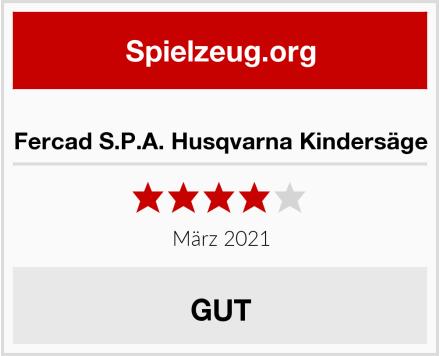 Fercad S.P.A. Husqvarna Kindersäge Test