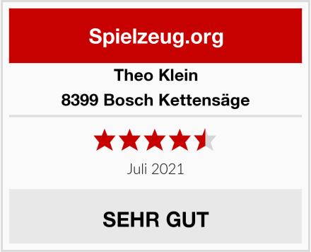 Theo Klein 8399 Bosch Kettensäge Test