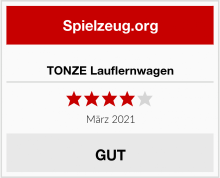 TONZE Lauflernwagen Test