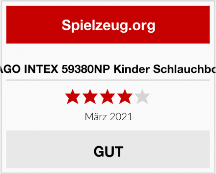 CAGO INTEX 59380NP Kinder Schlauchboot Test