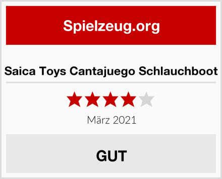Saica Toys Cantajuego Schlauchboot Test