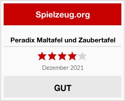 Peradix Maltafel und Zaubertafel Test