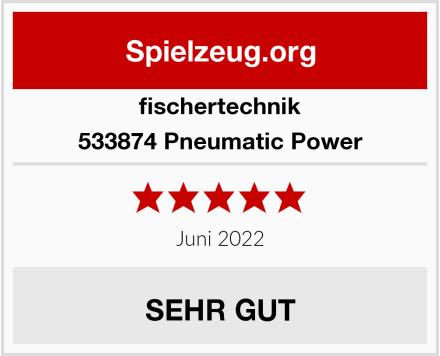 fischertechnik 533874 Pneumatic Power Test
