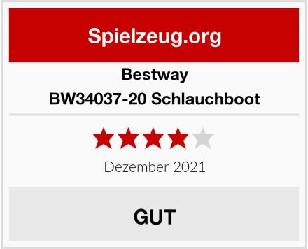 Bestway BW34037-20 Schlauchboot Test
