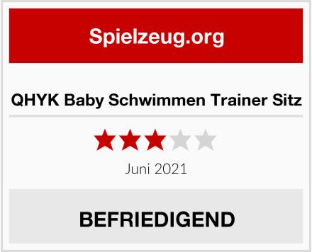 QHYK Baby Schwimmen Trainer Sitz Test