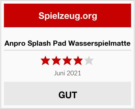 Anpro Splash Pad Wasserspielmatte Test
