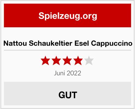 Nattou Schaukeltier Esel Cappuccino Test