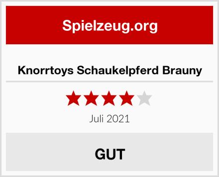 Knorrtoys Schaukelpferd Brauny Test