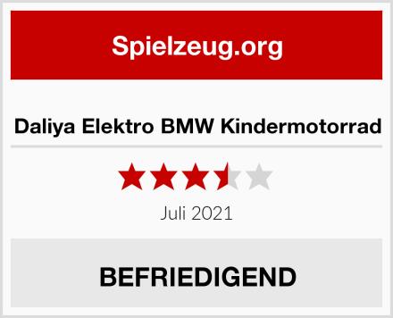 Daliya Elektro BMW Kindermotorrad Test