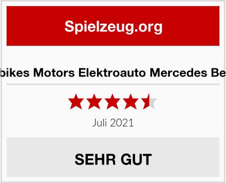 Actionbikes Motors Elektroauto Mercedes Benz C63 Test