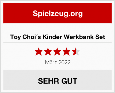Toy Choi´s Kinder Werkbank Set Test