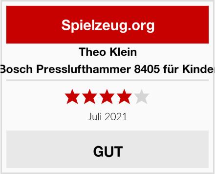 Theo Klein Bosch Presslufthammer 8405 für Kinder Test