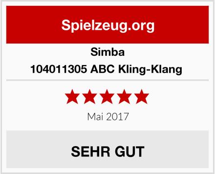 Simba 104011305 ABC Kling-Klang  Test