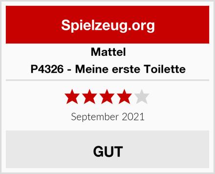 Mattel P4326 - Meine erste Toilette Test