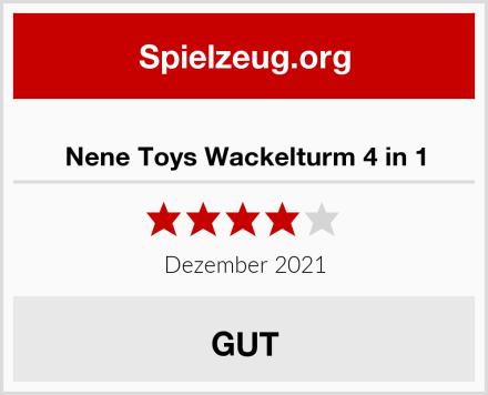 Nene Toys Wackelturm 4 in 1 Test