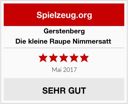 Gerstenberg Die kleine Raupe Nimmersatt  Test