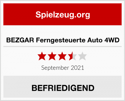 BEZGAR Ferngesteuerte Auto 4WD Test