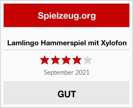 Lamlingo Hammerspiel mit Xylofon Test