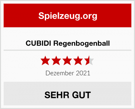 CUBIDI Regenbogenball Test