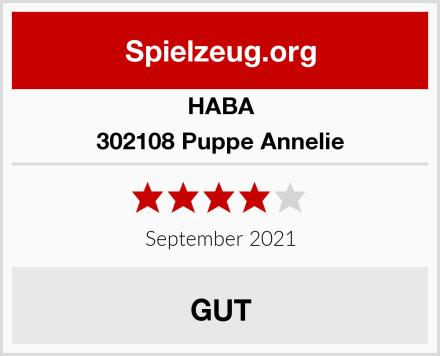 HABA 302108 Puppe Annelie Test