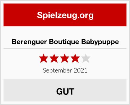 Berenguer Boutique Babypuppe Test