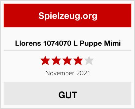 Llorens 1074070 L Puppe Mimi Test