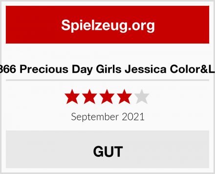 Götz 1490366 Precious Day Girls Jessica Color&Lace Puppe Test