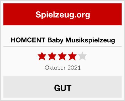 HOMCENT Baby Musikspielzeug Test