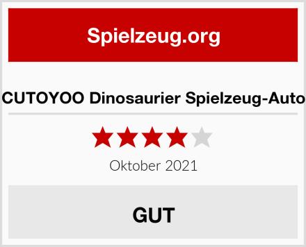 CUTOYOO Dinosaurier Spielzeug-Auto Test