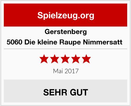 Gerstenberg 5060 Die kleine Raupe Nimmersatt  Test