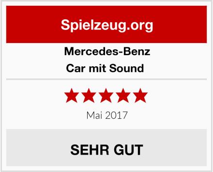 Mercedes-Benz Car mit Sound  Test
