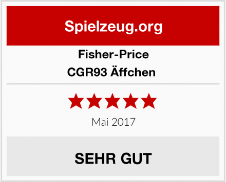 Fisher-Price CGR93 Äffchen  Test