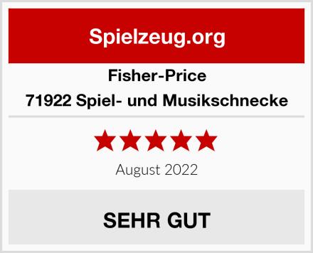 Fisher-Price 71922 Spiel- und Musikschnecke Test