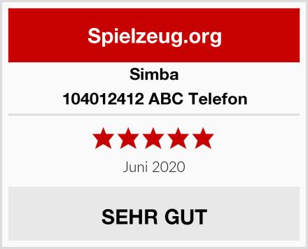 Simba 104012412 ABC Telefon Test