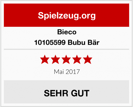 Bieco 10105599 Bubu Bär Test