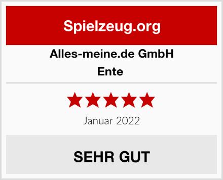 alles-meine.de GmbH Ente  Test