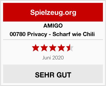 AMIGO 00780 Privacy - Scharf wie Chili  Test