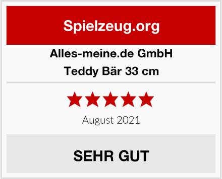 alles-meine.de GmbH Teddy Bär 33 cm Test