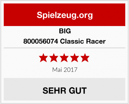 BIG 800056074 Classic Racer Test