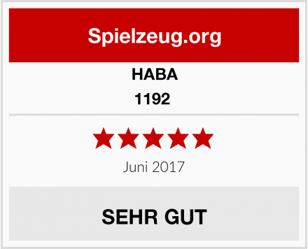 HABA 1192  Test