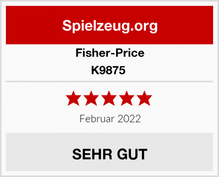 Fisher-Price K9875  Test