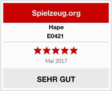 Hape E0421  Test