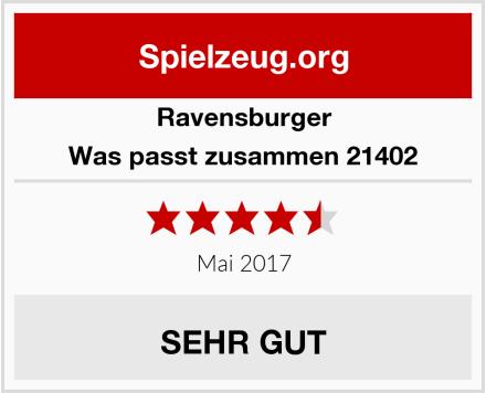 Ravensburger Was passt zusammen 21402 Test