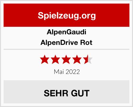 AlpenGaudi AlpenDrive Rot Test