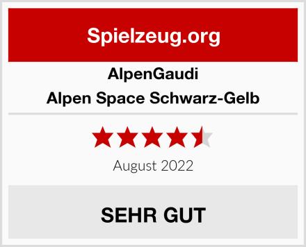 AlpenGaudi Alpen Space Schwarz-Gelb Test