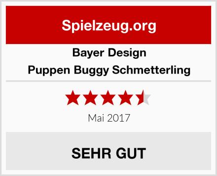 Bayer Design Puppen Buggy Schmetterling Test