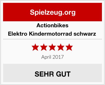 Actionbikes Elektro Kindermotorrad schwarz  Test