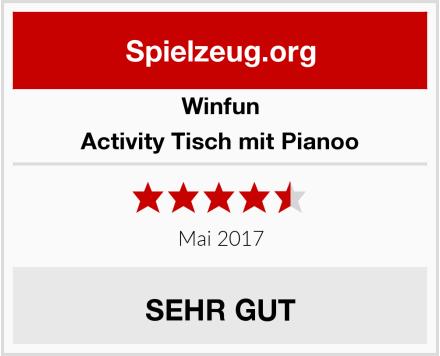 Winfun Activity Tisch mit Pianoo Test