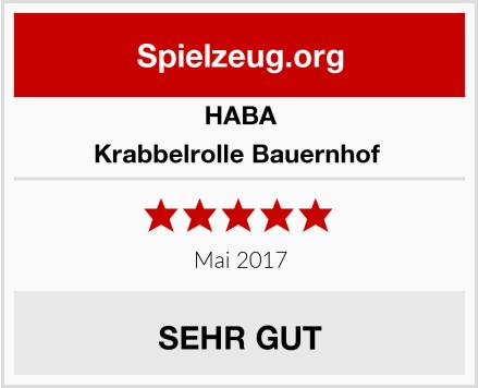 HABA Krabbelrolle Bauernhof  Test